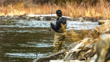 Fishing the Bear Trap on the Madison River