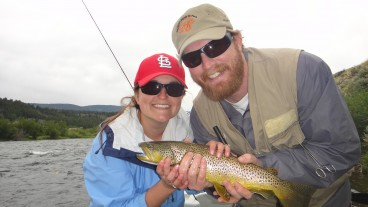 fly fishing on the madison river