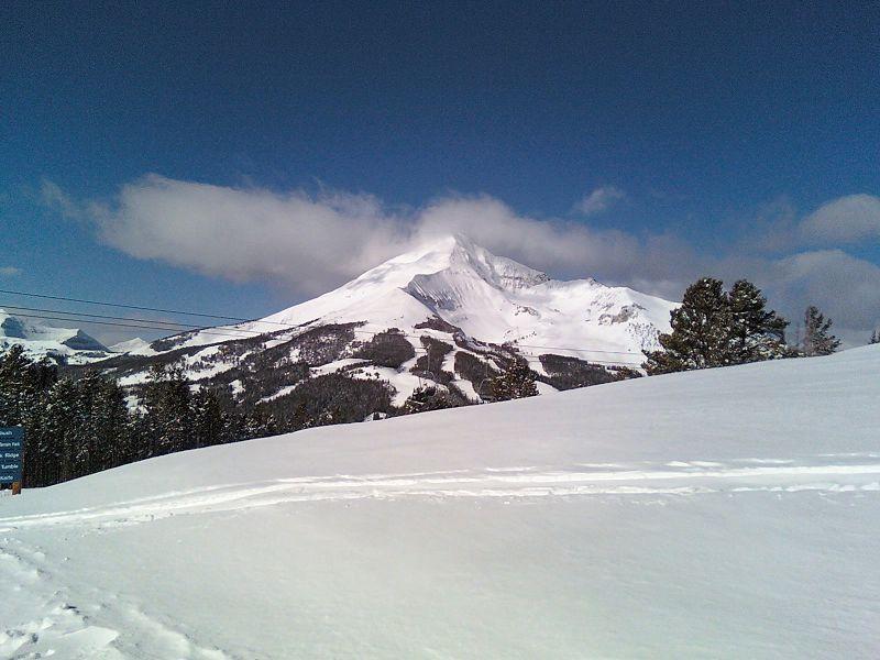 big sky skiing resort
