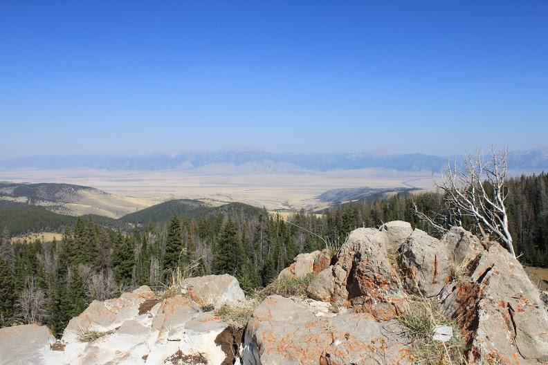 gravelly range road - scenic view