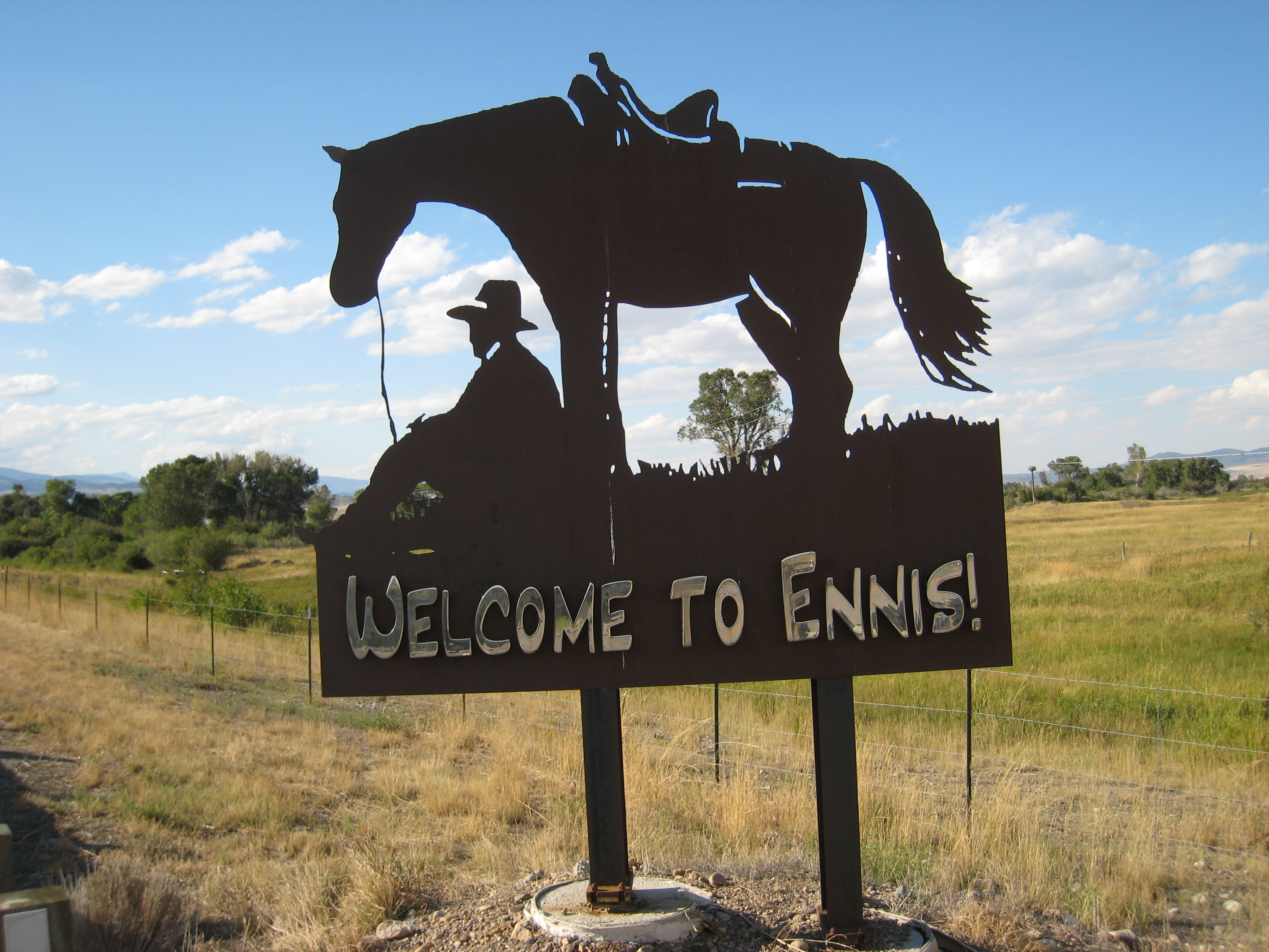 Montana art in Ennis, MT