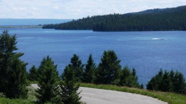 Hebgen Lake Attached to Quake Lake