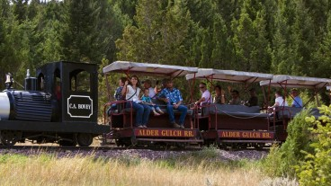 Things to do in Virginia City, MT Cover Image: Virginia City train line to Alder in gold rush country