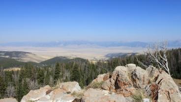 gravelly range road - picnic view